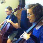 Cello Harmonics