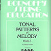 Tonal Patterns in Melody, Book 2